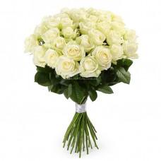 35 белых роз - аваланч