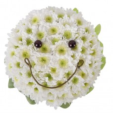 Игрушка из цветов Смайлик № 1