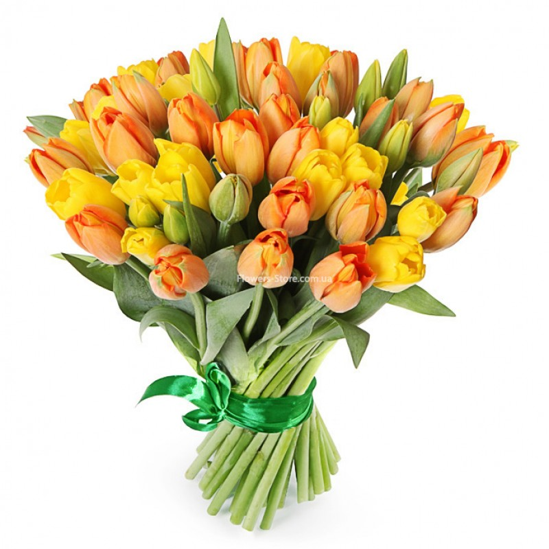 заготовку, картинки тюльпаны желто красные в букете для головки